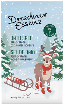 Dresdner Essenz Apple Caramel Cozy Winter Moments Bath Salt - 2.1 oz packet