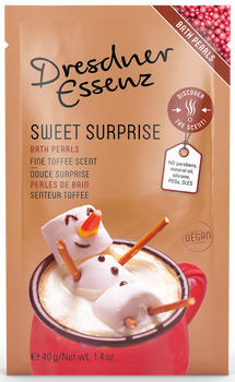 Dresdner Essenz Fine Toffee Sweet Surprise Bath Pearls - 1.4 oz. packet