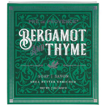 Pre de Provence Bergamot and Thyme Shea Butter Enriched Soap Gift Box - 200 gm