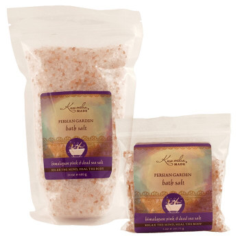 Kuumba Made Persian Garden Bath Salt - 24 oz bulk size