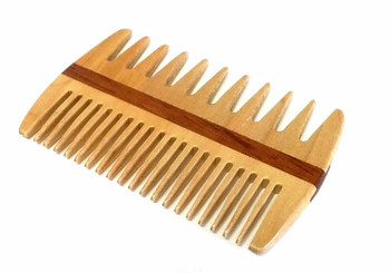Speert Handmade Wooden Beard Comb #DC26R