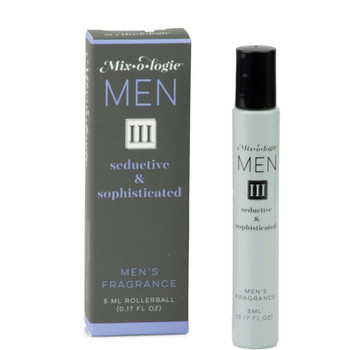 Mixologie Fragrance For Men - III Seductive and Sophisticated - .17 oz rollerball
