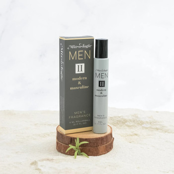 Mixologie Fragrance For Men - II Modern and Masculine - .17 oz rollerball