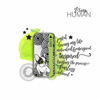 Warm Human Lime 100percent Pure Essential Oil Solid Perfume - .28 oz tin