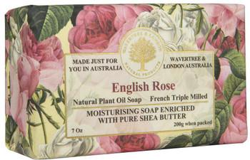 Wavertree and London English Rose Soap Bar - 200 gm