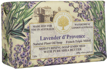 Wavertree and London Lavender dProvence Soap Bar - 200 gm