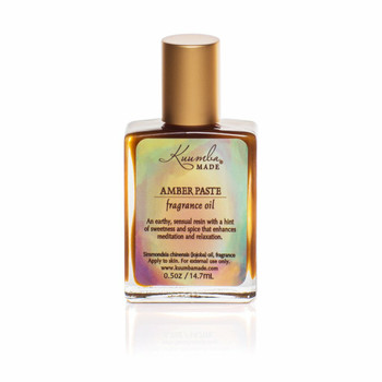 Kuumba Made Amber Paste Fragrance Oil - 1/2 oz w/ applicator wand