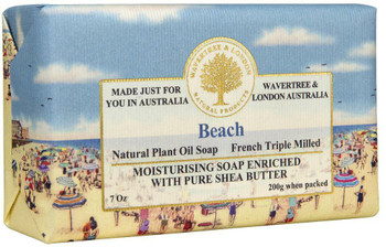 Wavertree and London Beach Soap Bar - 200 gm