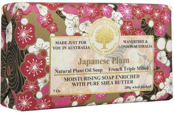 Wavertree and London Japanese Plum Soap Bar - 200 gm