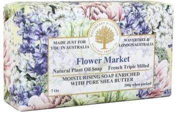 Wavertree and London Flower Market Soap Bar - 200 gm