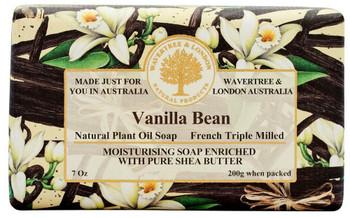 Wavertree and London Vanilla Bean Soap Bar - 200 gm