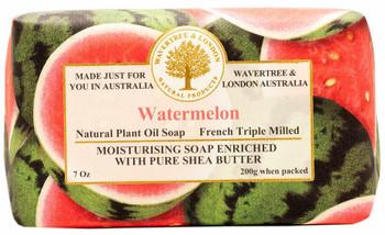 Wavertree and London Watermelon Soap Bar - 200 gm