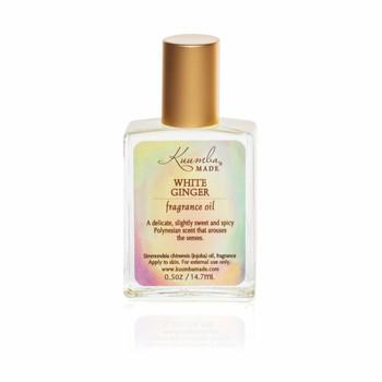 Kuumba Made White Ginger Fragrance Oil - 1/2 oz
