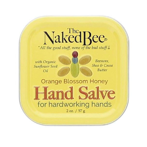 Naked Bee Orange Blossom Honey Hand Salve - 1.5 oz tin