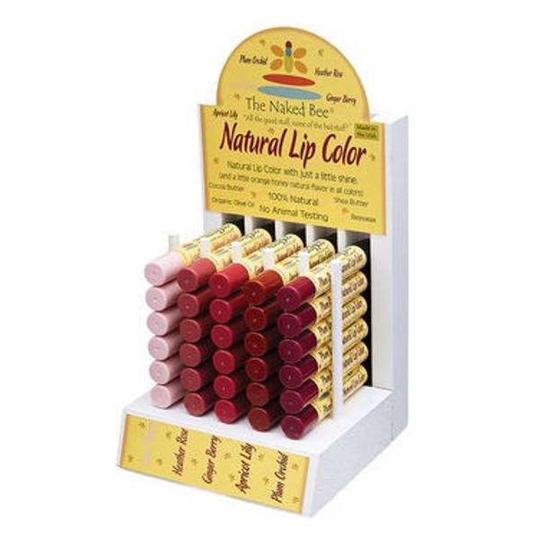 Naked Bee Natural Lip Color - .09 oz