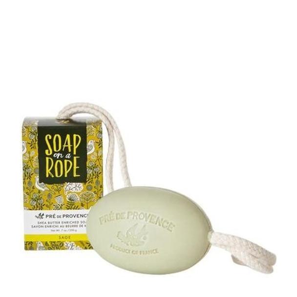 Pre de Provence Soap On A Rope - 200 gm - Sage