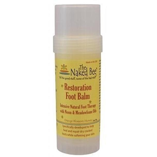 Naked Bee Orange Blossom Honey Foot Balm - 2 oz Twist up tube