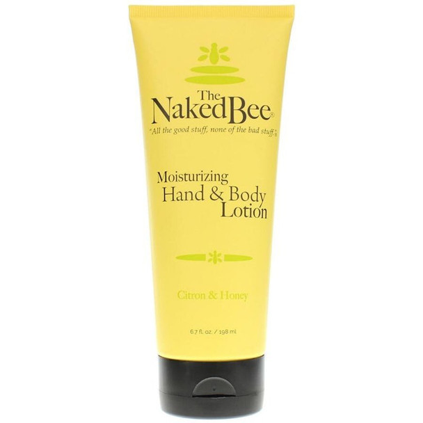 Naked Bee Citron and Honey Moisturizing Hand and Body Lotion - 6.7 oz tube