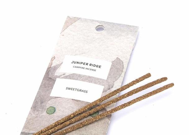 Juniper Ridge Sweetgrass Natural Incense - 20 sticks