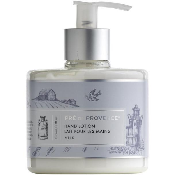Pre de Provence Heritage Hand Lotion - 11 oz pump bottle - Milk