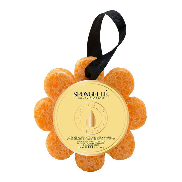 Spongelle Spongelle Body Wash Infused Wild Flower Buffer - Honey Blossom