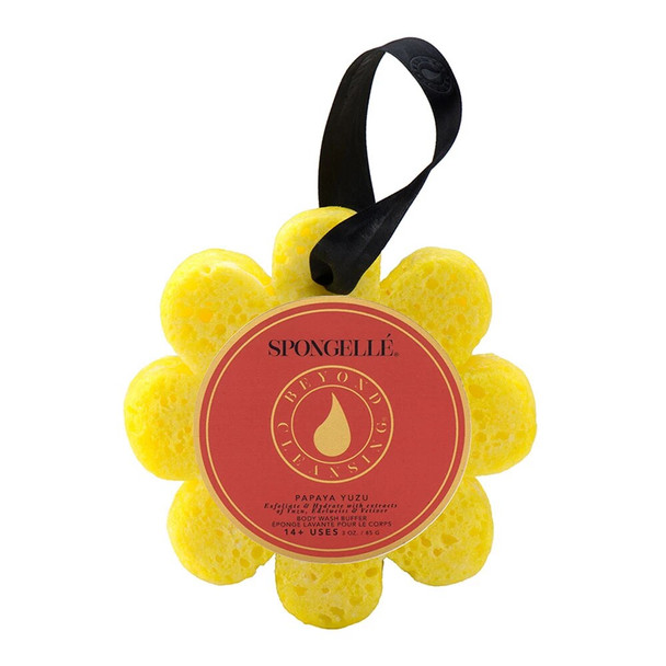 Spongelle Spongelle Body Wash Infused Wild Flower Buffer - Papaya Yuzu