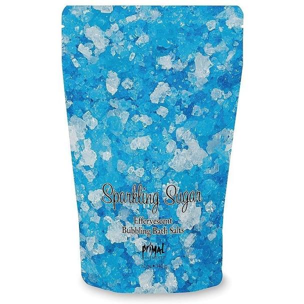Primal Elements Sparkling Sugar Effervescent Bubbling Bath Salts - 12 oz pouch