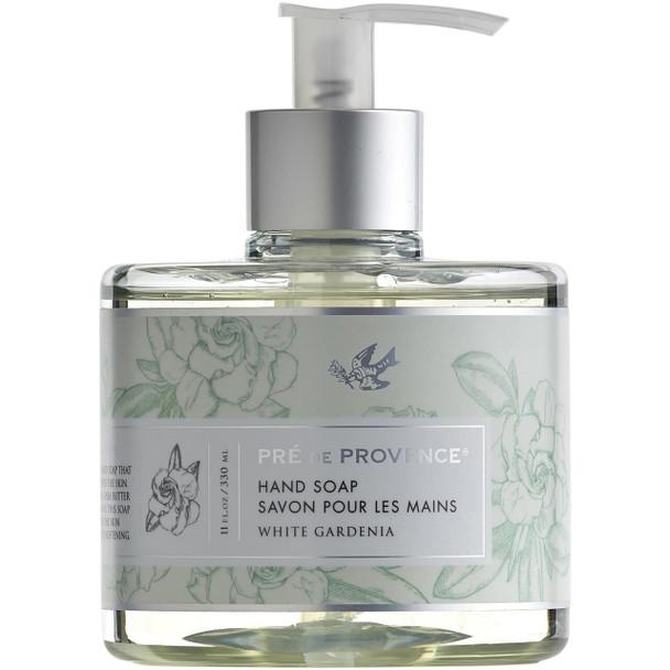 Pre de Provence Heritage Hand Soap - 11 oz pump bottle - White Gardenia