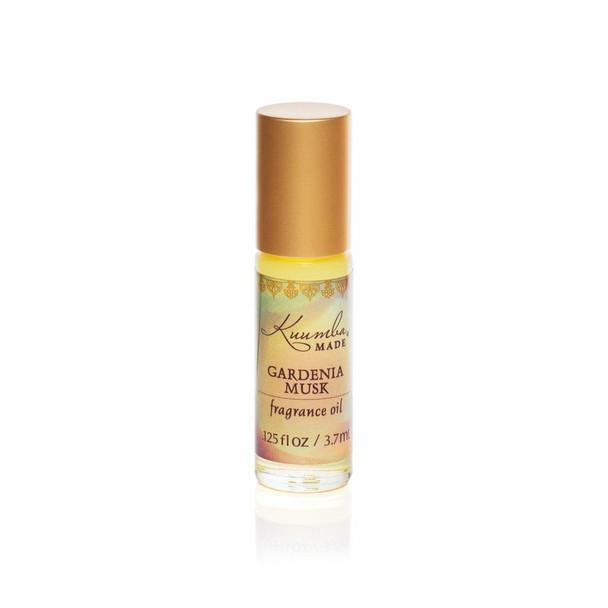 Kuumba Made Gardenia Musk Fragrance Oil - 1/8 oz roll-top