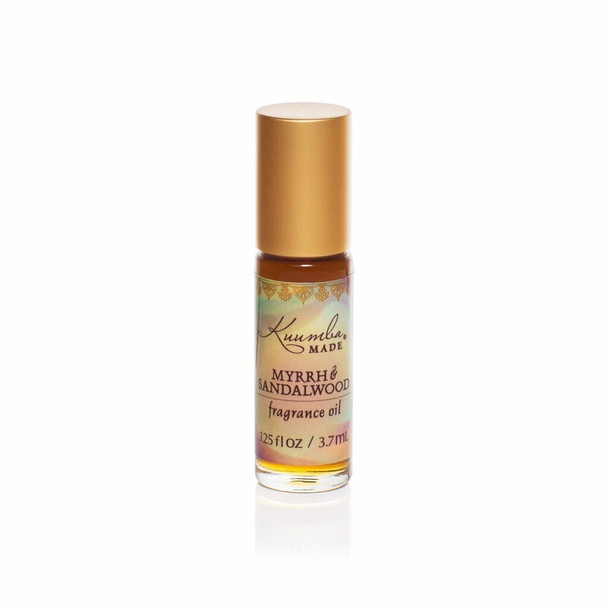 Kuumba Made Myrrh and Sandalwood Fragrance Oil - 1/8 oz roll-top