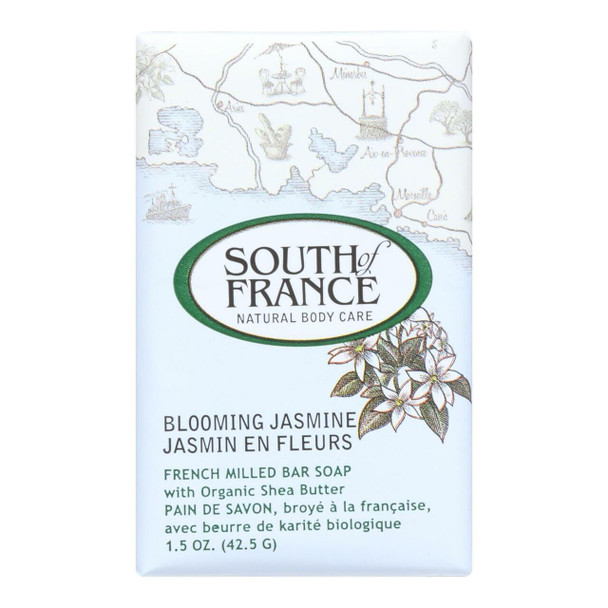 South Of France Bar Soap - Blooming Jasmine - Travel - 1.5 oz