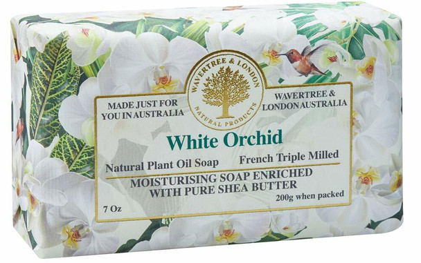 Wavertree and London White Orchid Soap Bar - 200 gm