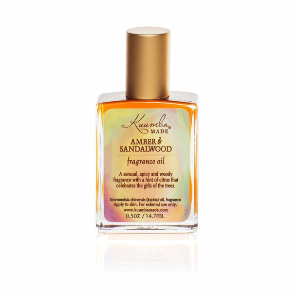 Kuumba Made Amber and Sandalwood Fragrance Oil - 1/2 oz