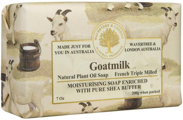 Wavertree and London Goatmilk Soap Bar - 200 gm