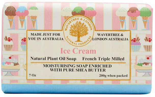 Wavertree and London Ice Cream Soap Bar - 200 gm
