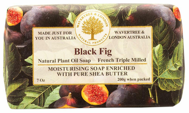 Wavertree and London Black Fig Soap Bar - 200 gm