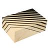 Art Deco Stripes 50 Count Humidor