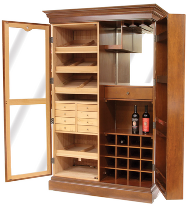 Cigar Humidor Wine Rack