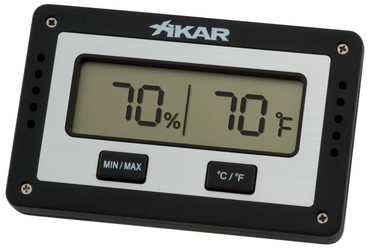 Rectangular Digital Hygrometer