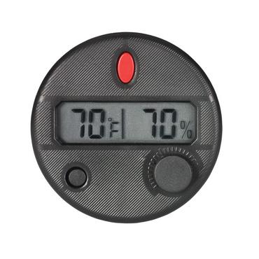 Round Front Mount Digital Hygrometer