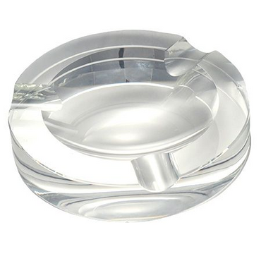 Round Crystal Ashtray