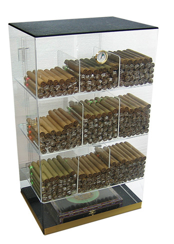 250 Count Acrylic Display Humidor