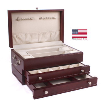 First Lady 2 Drawer Jewelry Chest