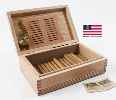 Americana Rustic Cigar Humidor
