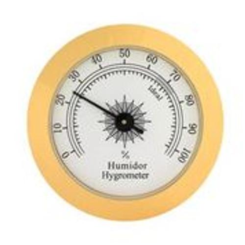 Round Analog Hygrometer