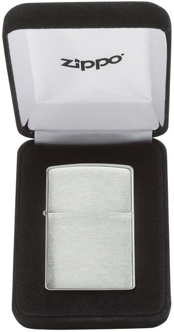 Zippo Classic Sterling Silver Brushed Chrome