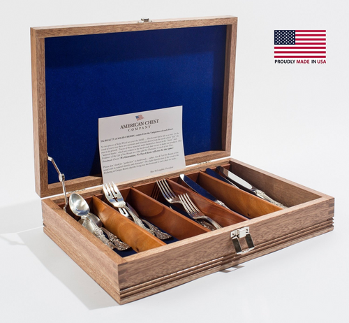 Americana, Divided Flatware Chest