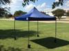 10'x10' D/S Model Navy Blue - Pop Up Canopy Tent EZ  Instant Shelter w Wheel Bag + Sand Bags + 4 Walls