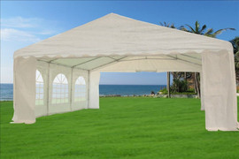 PE Party Tent 20'x20' with Waterproof Top