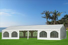 40'x20' PVC Party Tent (FR) Wedding Canopy Shelter - Fire Retardant - White